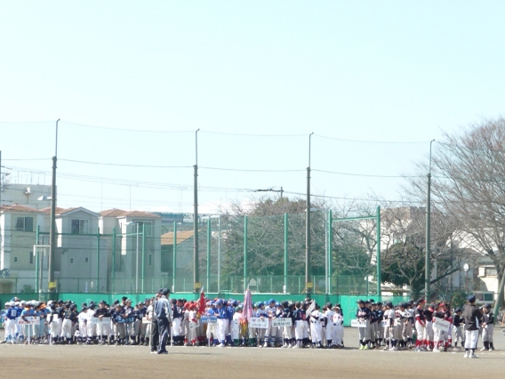 学童野球もシーズン開幕です