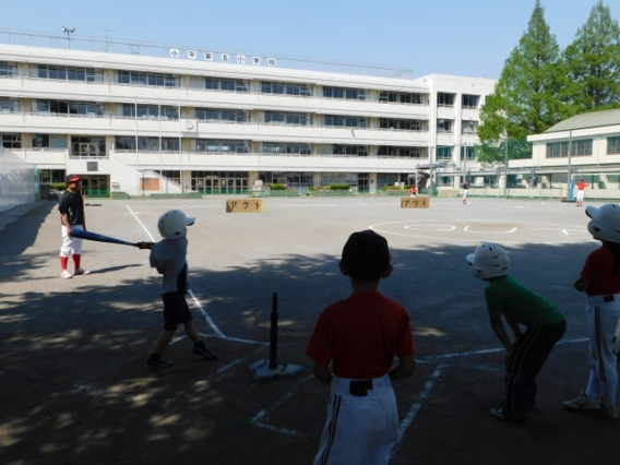 野球体験イベント「リアル野球盤」を開催しました!